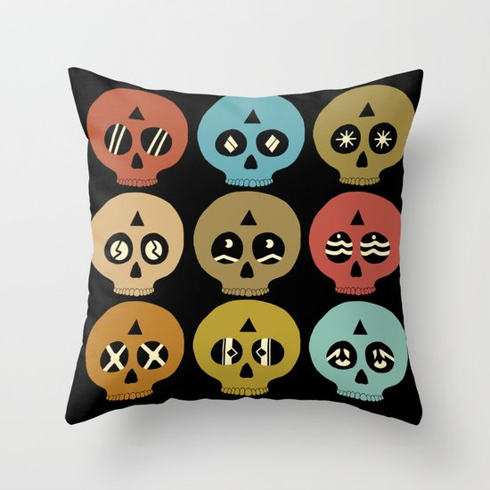 I See Dead People Throw Pillow