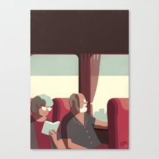 Day Trippers #1 - Arrival Canvas Print