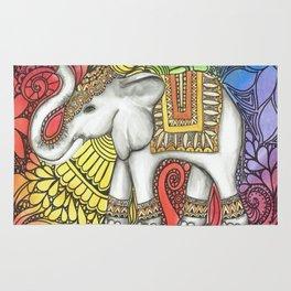 Lucky Elephant Charm Rug