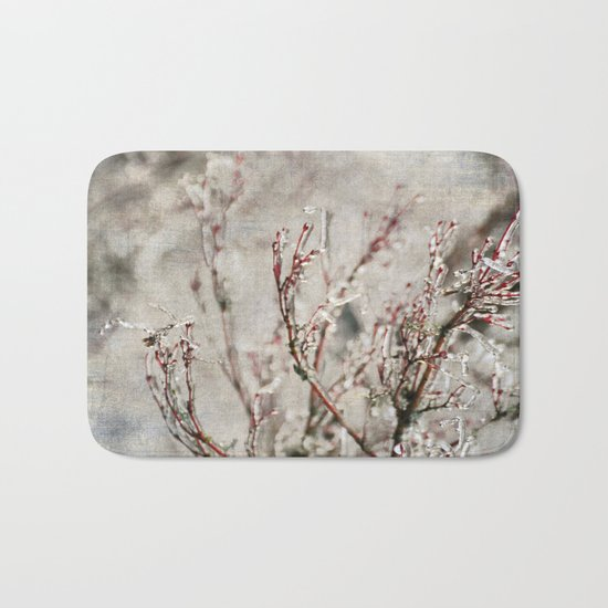 ICICLE BRANCHES Bath Mat