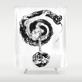 As within, so without Shower Curtain