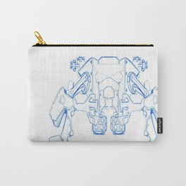 Mechanized Carry-All Pouch