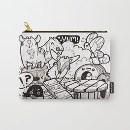 Kawaii Doodle - Goat Love Carry-All Pouch
