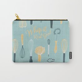Whip It Real Good - Retro Kitchen whisks Carry-All Pouch