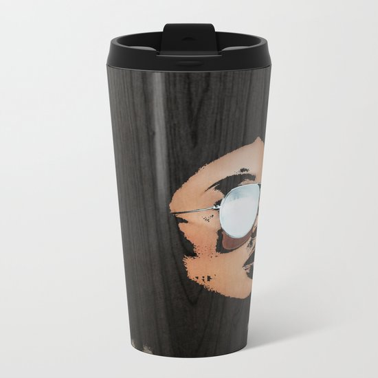 Venus Afro Metal Travel Mug