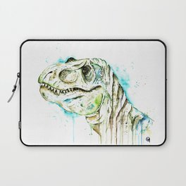 T-Rex - Tom the T-rex Colorful Watercolor Painting Laptop Sleeve
