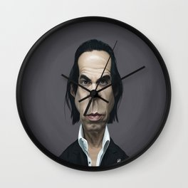 Nick Cave Wall Clock