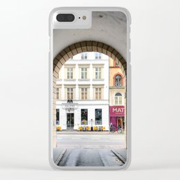 Streetart Clear iPhone Case