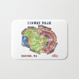 Fenway Park Baseball Stadium Bath Mat