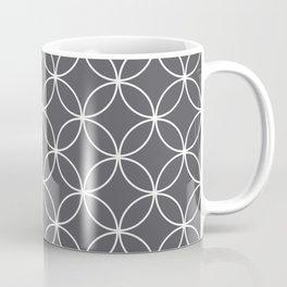 Circles Graphite Gray Coffee Mug