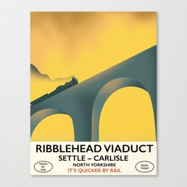 Ribblehead Viaduct Yorkshire Canvas Print