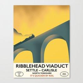 Ribblehead Viaduct Yorkshire Canvas Print