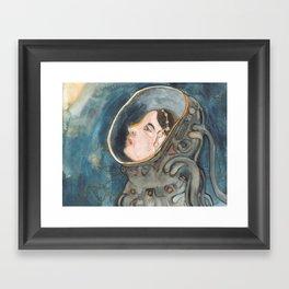 Space Magic Framed Art Print
