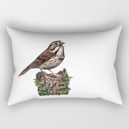 Song Sparrow Rectangular Pillow
