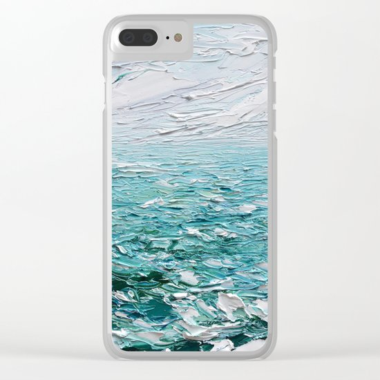 Graceful Waters Clear iPhone Case