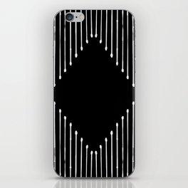 Geo / Black iPhone Skin