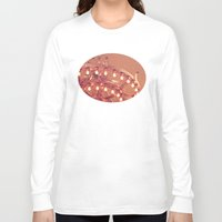 chandelier Long Sleeve T-shirts featuring Bronze Chandelier by Jessica Torres Photography