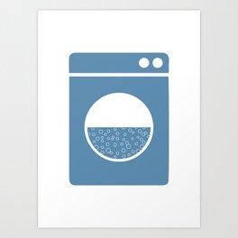 Laundry poster Art Print