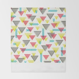 Wild Triangles Throw Blanket