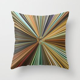 Fall Color Ball Throw Pillow
