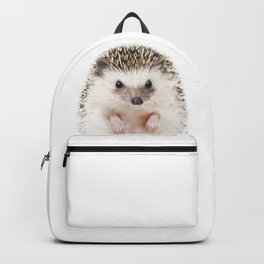 Baby Hedgehog, Baby Animals Art Prints by Synplus Backpack