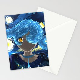 Starry Night Eye Stationery Cards