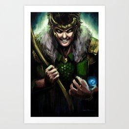 Agent of Asgard Art Print