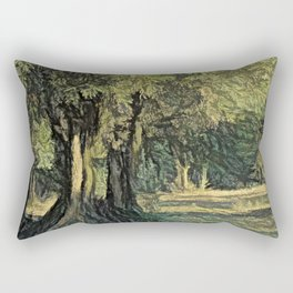Olives in Provence Rectangular Pillow
