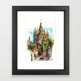 Calle Aldama, San Miguel de Allende Framed Art Print