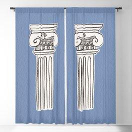 Greek ionic column Blackout Curtain