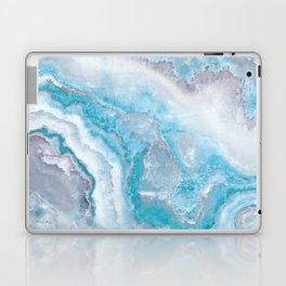Ocean Foam Mermaid Marble Laptop & iPad Skin