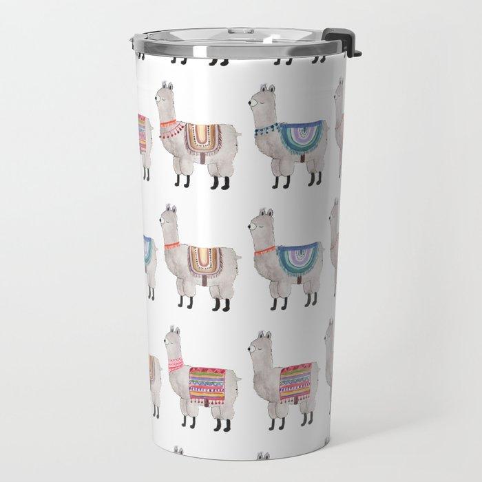 Llama Alpaca Travel Mug