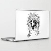 hawk Laptop & iPad Skins featuring Hawk  by Art is Vast