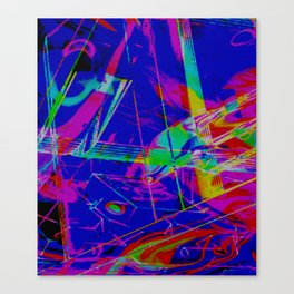 Vaporshape Canvas Print