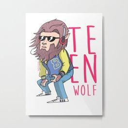 Teen wolf Metal Print