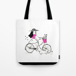Alicia - A Spring Day Tote Bag