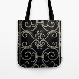 Pretty ornamented gate Tote Bag