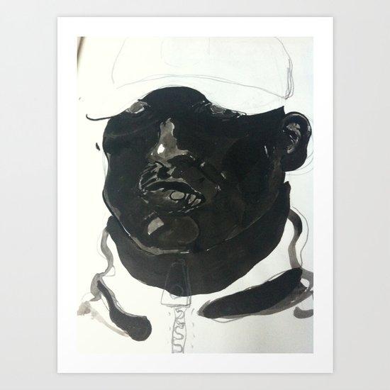 cappy  Art Print