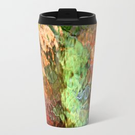 Abstract Water Reflection Travel Mug