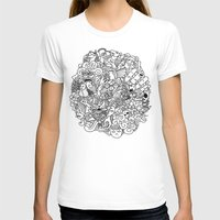 doodle T-shirts featuring Doodle  by Vibe-Art