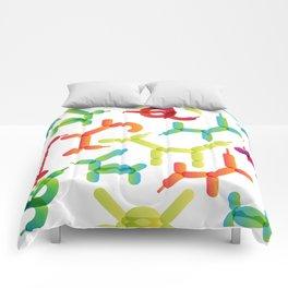 Balloon animals pattern #2 Comforters