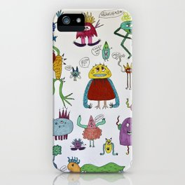 Cheeky little Monsters iPhone Case