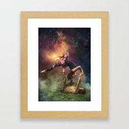 Cosmic Unity Framed Art Print