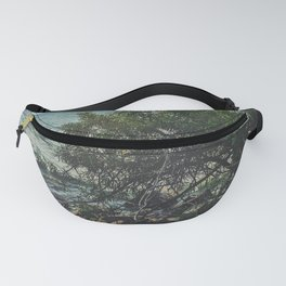 vibing by the shore Fanny Pack