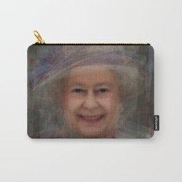 Queen Elizabeth II Portrait Carry-All Pouch