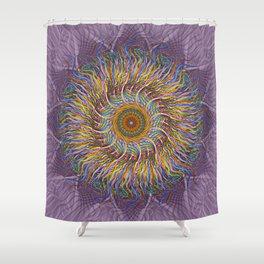 A Simple Twist Shower Curtain