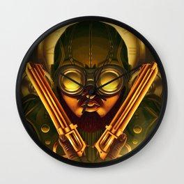 Steampunk Seth: Bounty Hunter Wall Clock