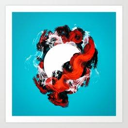 In Circle - I Art Print