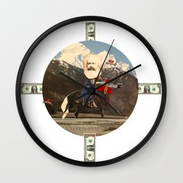 Das Kreuz mit den Rittern · Karl der Große Wall Clock
