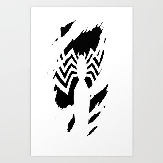 Venom in you Art Print